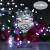 LED Lichterketten Lichtervorhang 300 LEDs USB Vorhanglichter 8 Modi Mit ferngesteuertem Timer, IP65 wasserdichte , Geeignet für Schlafzimmer, Fenster, Weihnachten, Party, Hochzeit, kühles Weiß - 4
