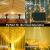 LED Lichtvorhang 3x3m, Ollny 300 LED Lichterkette Vorhang mit Fernbedienung & Timer 8 Modi Lichterkettenvorhang für Außen Innen Weihnachten Partydekoration Geburstag Hochzeit Fenster Zimmer, Warmweiß - 4