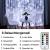 LED Lichtvorhang 3x3m, Ollny 300 LED Lichterkette Vorhang mit Fernbedienung & Timer 8 Modi Lichterkettenvorhang für Außen Innen Weihnachten Partydekoration Geburstag Hochzeit Fenster Zimmer, Kaltweiß - 3