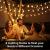 Lepro Lichterkette Kugeln 13M 100 LEDs, Partybeleuchtung Außen 8 Modi, ideale Strom Weihnachtsbeleuchtung für Innen Outdoor Balkon Garten Hochzeit Party Weihnachten Deko, Warmweiß Partylichterkette - 4