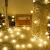 Lepro Lichterkette Kugeln 13M 100 LEDs, Partybeleuchtung Außen 8 Modi, ideale Strom Weihnachtsbeleuchtung für Innen Outdoor Balkon Garten Hochzeit Party Weihnachten Deko, Warmweiß Partylichterkette - 1