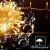 Lichterkette Außen, 12M 120 LED Lichterkette Weihnachten Netzkabel mit 8 Modi, Wasserdichte IP44 + IP65 für Weihnachtsbaum, Tannenbaum, Partys, Hochzeit Deko, Warmweiß - 3