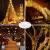 Lichterkette Außen, 12M 120 LED Lichterkette Weihnachten Netzkabel mit 8 Modi, Wasserdichte IP44 + IP65 für Weihnachtsbaum, Tannenbaum, Partys, Hochzeit Deko, Warmweiß - 4
