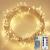 Lichterkette Außen, 12M 120 LED Lichterkette Weihnachten Netzkabel mit 8 Modi, Wasserdichte IP44 + IP65 für Weihnachtsbaum, Tannenbaum, Partys, Hochzeit Deko, Warmweiß - 1