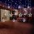 Lichterkette Bunt Sterne Mond, 3.5m*1.1m 8 Modi LED Fenster Lichterketten Vorhang Lichterkette für Zimmer Stimmungslichter ideale für Außenbeleuchtung und Innenbeleuchtung [Mehrfarbig] - 4