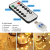Lichterkette Kugeln, Koopower 100er LED 11M USB Strombetrieben Lichterketten Globe mit Stecker 8 Modus Timer Lichterkette Dimmbar mit Fernbedienung Wasserdicht Beleuchtung für Innen Decor Warmweiß - 2