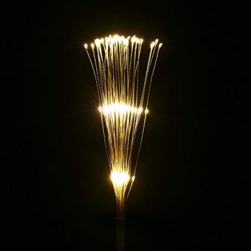 Lixada Feuerwerk LED Licht, 150 LEDs Weihnachten Lichterketten mit Fernbedienung dekorative hängende Starburst Lampe für Indoor Outdoor Home Parties Hochzeit Hofgarten (2 Stück) - 3