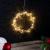 Lunartec Lichtkranz Weihnachten: 2er-Set LED-Lichterkränze für Fenster, Türen u.v.m, 32 warmweiße LEDs (Fensterbeleuchtung Weihnachten) - 4