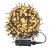 LZQ LED Lichterkette Außen Innen Wasserdicht IP44 Weihnachtsbeleuchtung mit 8 Leuchtmodi - für Innen Außen Garten Party Deko (30M 300 LED Warmweiß) - 1