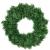 Mackur Tannenkranz Türkranz Weihnachtskranz Künstlicher Deko Kranz Adventskranz Grün für Wänden oder Türen 1 Stück (40CM) - 1
