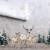 Maison d' Hermine Deer In The Woods Tischläufer aus 100% Baumwolle für Partys | Abendessen | Feiertage | Küche | Thanksgiving/Weihnachten (50 cm x 150 cm) - 3