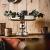 MichaelNoll Dekoteller Schale Servierplatte Aluminium Silber Luxus Poliert - Moderne Dekoschale aus Metall - Tischdeko Hochzeit - Dekoration für Wohnzimmer, Esszimmer oder Küche - 28 cm - 4