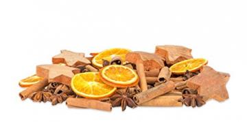 NaDeco Weihnachts Potpourri 250g mit Zimtstangen, Sternanis, Orangenscheiben, Tannenzapfen und Kokossternen - 2