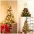 OSALADI Weihnachtsbaum Topper Beleuchtet Acht Spitzen Stern Baum Topper mit Lichterketten Eisendraht Baumkronen Ornament für Weihnachtsbaum Party Indoor Dekoration (Gold) - 4