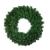 OULII 40CM Tannenkranz Weihnachtskranz Weihnachtsdeko grün Türkranz Girlande Party Wand Haus Dekor - 1