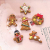 Queta Christbaumschmuck Weihnachtsbaum Anhänger Dekoration (Lebkuchen-6 Stück) - 4