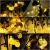 Solar Lichterkette aussen, 50LED 23ft 8 Modi Solar Kristall Kugeln wasserdicht Außer/Innen Lichter Beleuchtung für Garten, Bäume, Terrasse, Weihnachten, Hochzeiten, Partys (warmweiß) - 4