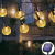 Solar Lichterkette aussen, 50LED 23ft 8 Modi Solar Kristall Kugeln wasserdicht Außer/Innen Lichter Beleuchtung für Garten, Bäume, Terrasse, Weihnachten, Hochzeiten, Partys (warmweiß) - 1
