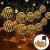 Solar Marokkanische Lichterketten Außen, NLNEY LED 7M 50er Lichterketten Aussen, 8 modi Solar Lichterkette Wasserdicht Lichter Beleuchtung für Garten, Terrasse, Hof, Haus, Weihnachten, Party - 1