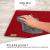 sølmo I 12er Premium Platzsets aus Filz Tischset Platzset 42x32 cm abwaschbar Filzuntersetzer Platzdeckchen Untersetzer Teller Platzset + Glas Untersetzer Echtholz Tisch geeignet Rot, Wine Red - 3