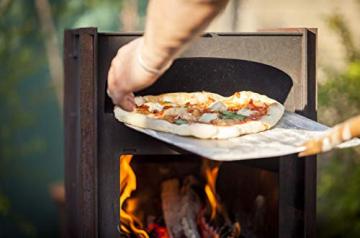 Städler Made Pizzaofen Outdoor Ofen Holzofen Stahl Design Holzofenpizza Backofen Garten - 3