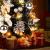 Urmagic Mini LED Weihnachtsbaum klein Künstlicher Tannenbaum mit LED Lichterkette Beleuchtung und Baumschmuck Weihnachtskugeln Künstliche Weihnachtsbäume weihnachts Desktop dekoration - 4