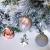 Victor's Workshop Weihnachtskugeln 35tlg. 5cm Plastik Christbaumkugeln Set, Weihnachtsbaumschmuck Dekoration Christbaumschmuck für Haus Dekoration Mysteriöser Palast Thema rosa lila silbern - 4