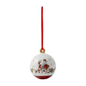 Villeroy & Boch Annual Christmas Edition Kugel 2020, 6,5 x 6,5 x 8 cm - 1