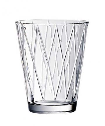Villeroy & Boch Dressed Up Wassergläser, 4er-Set, 310 ml randvoll gemessen, Kristallglas, Klar - 2
