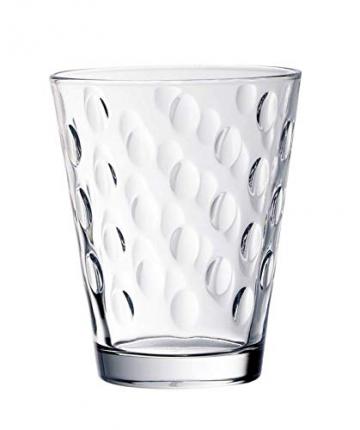 Villeroy & Boch Dressed Up Wassergläser, 4er-Set, 310 ml randvoll gemessen, Kristallglas, Klar - 3