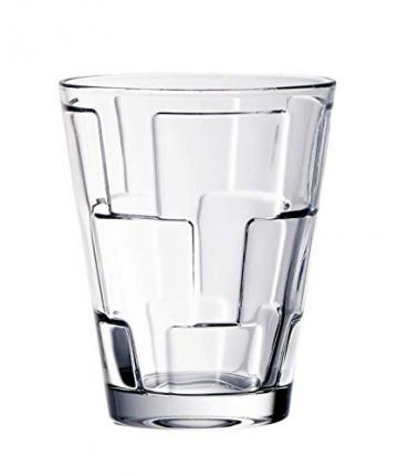Villeroy & Boch Dressed Up Wassergläser, 4er-Set, 310 ml randvoll gemessen, Kristallglas, Klar - 4