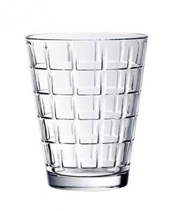 Villeroy & Boch Dressed Up Wassergläser, 4er-Set, 310 ml randvoll gemessen, Kristallglas, Klar - 5