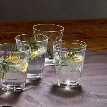 Villeroy & Boch Dressed Up Wassergläser, 4er-Set, 310 ml randvoll gemessen, Kristallglas, Klar - 6
