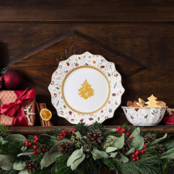 Villeroy & Boch Toys Delight Frühstücksteller, Jubiläumsedition, Premium Porcelain, weiß, 24 cm, bunt, 14-8585-2644 - 2
