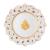 Villeroy & Boch Toys Delight Frühstücksteller, Jubiläumsedition, Premium Porcelain, weiß, 24 cm, bunt, 14-8585-2644 - 1