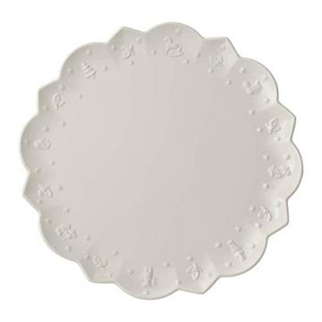 Villeroy & Boch Toy's Delight Royal Classic Platzteller, Premium Porzellan, Weiß, 34 cm - 1