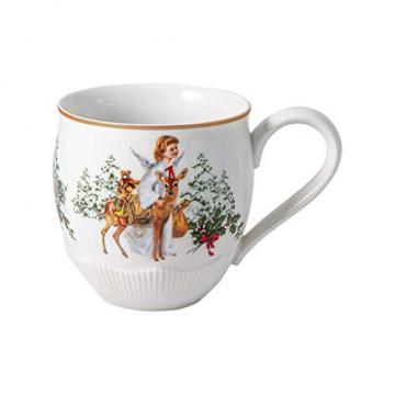 Villeroy & Boch Toys Fantasy Jumbobecher, Christkind, Premium Porcelain, weiß, 0,53 l, 14-8332-4847, bunt - 1