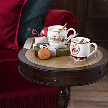 Villeroy & Boch Toys Fantasy Jumbobecher, Santa mit Waldtieren, Premium Porcelain, weiß, 0,53 l, bunt, 14-8332-4846 - 2