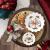 Villeroy & Boch - Toy's Fantasy Schale groß, Christkind, dekorative Weihnachtsschale aus Premium Porzellan, 24 x 24 x 4.5 cm, bunt/rot/weiß - 2
