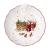 Villeroy & Boch - Toy's Fantasy Schale mit Santa-Relief Nostalgie, Premium Porzellan, 24 x 25 x 4.6 cm, bunt/rot/weiß - 1