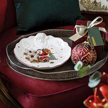 Villeroy & Boch Toys Fantasy Schale mit Santa Relief, Premium Porzellan, weiß, bunt, Mittel - 2