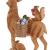 Villeroy & Boch - Winter Collage Accessoires Hirsch mit Waldtieren, formschöner Anhänger für den Christbaum, Polyresin, bunt, 14.5 x 9 x 21 cm - 2
