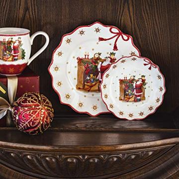 Villeroy und Boch - Annual Christmas Edition Jahresschale 2019, kleine Schüssel aus Premium Porzellan, limitierte Weihnachtsedition, bunt, 16 x 16 cm - 3