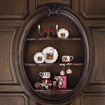 Villeroy und Boch - Annual Christmas Edition Jahresschale 2019, kleine Schüssel aus Premium Porzellan, limitierte Weihnachtsedition, bunt, 16 x 16 cm - 4