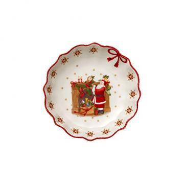 Villeroy und Boch - Annual Christmas Edition Jahresschale 2019, kleine Schüssel aus Premium Porzellan, limitierte Weihnachtsedition, bunt, 16 x 16 cm - 1