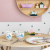 Villeroy und Boch Happy as a Bear Kinder-Tafelservice, 7-teilig, Premium Porzellan/Edelstahl, Weiß/Bunt - 2