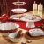 Villeroy und Boch Toy's Delight Kleine Kuchenplatte auf Fuß, 21 cm, Premium Porzellan, Weiß/Rot - 3
