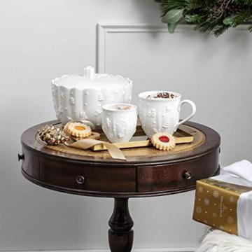 Villeroy und Boch - Toy's Delight Royal Classic Becher mit Henkel, große Tasse mit Reliefmuster, Premium Porzellan, 0,5 L, weiß - 2