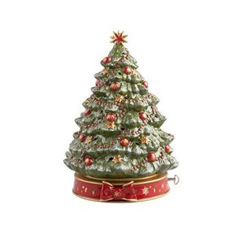 """Villeroy und Boch Toy's Delight Spieluhr """"Weihnachtsbaum"""", Porzellan, Grün - 1"""