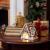 Villeroy und Boch - Winter Bakery Decoration Lebkuchenhaus, dekorativer Teelichthalter aus Hartporzellan, braun/weiß - 2